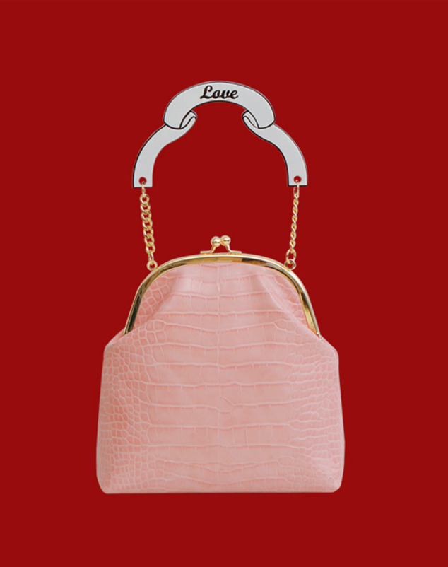 [SALE 40%] Lilly Bag_Pink