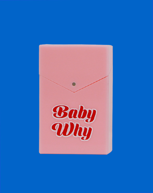 [SUMMER SALE]BabyWhy Acrylic Case_Pink
