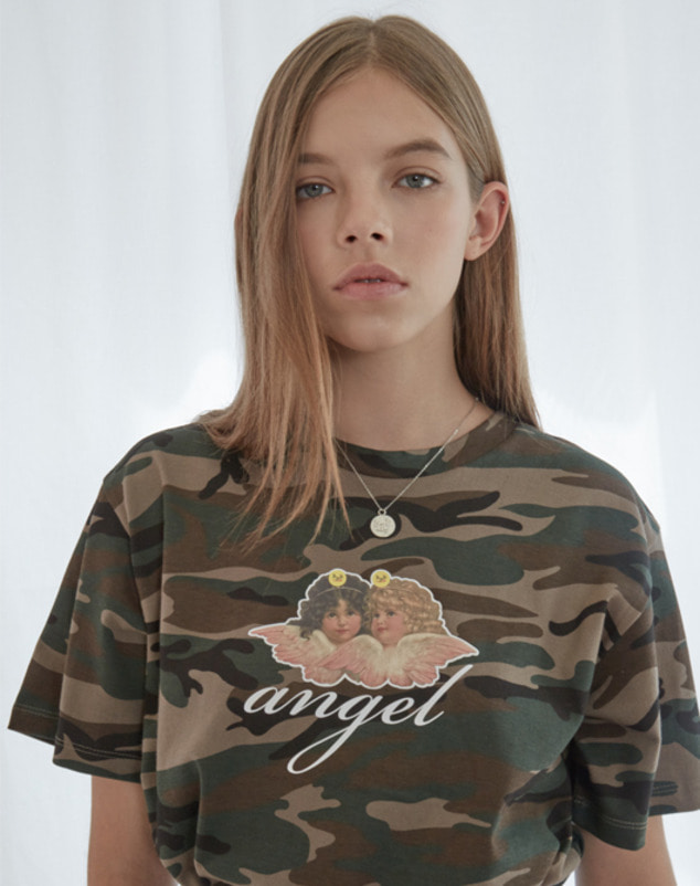 Camo Angel T-Shirt