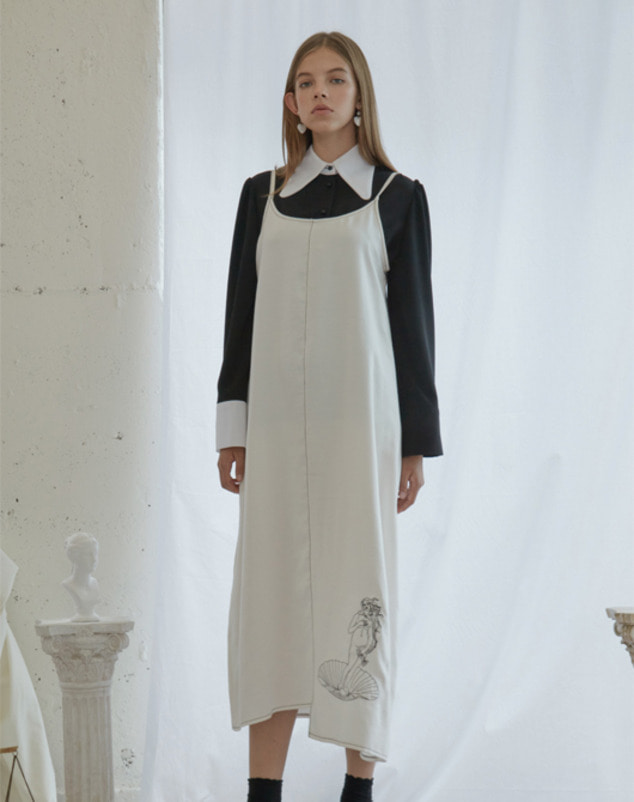 [SALE 30%] Venus Stitch Dress_White