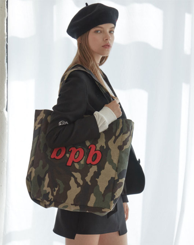 [SALE 20%] Bibi Logo Bag_Camo