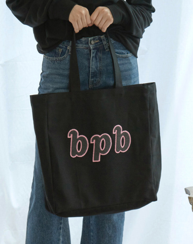 Bibi Logo Bag_Black