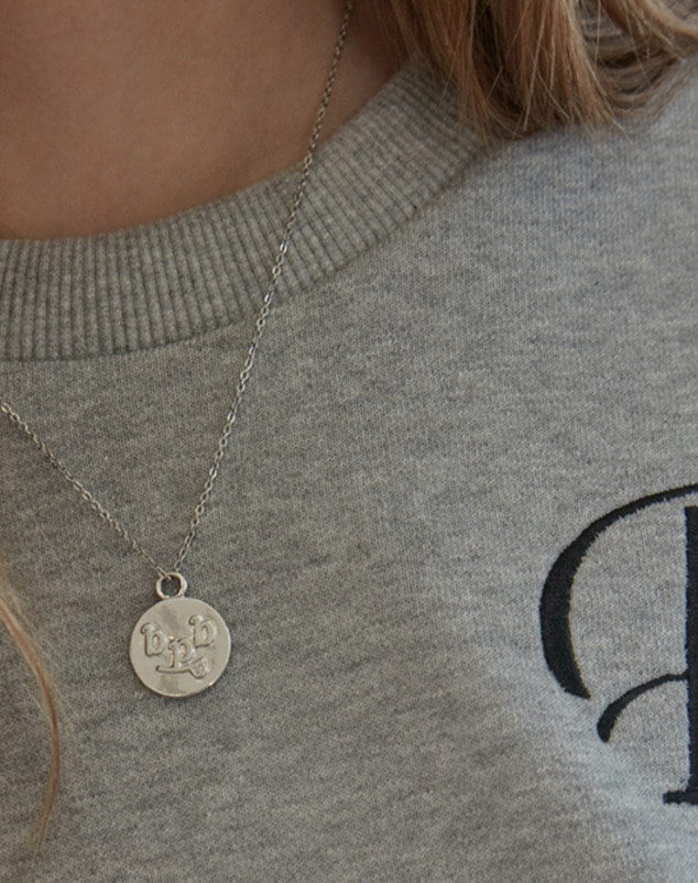 Logo Pendant Chain Necklace