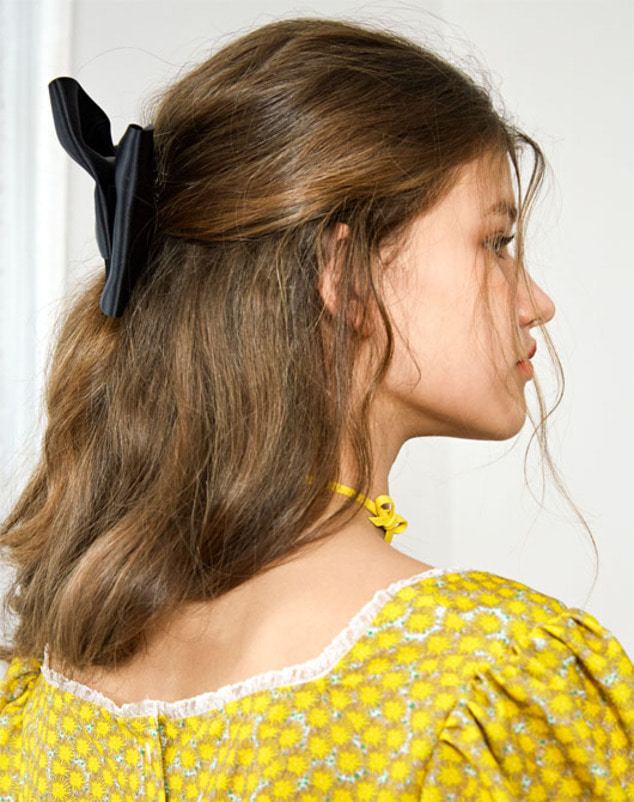 [SUMMER SALE 20%] Ribbon Choker_Yellow