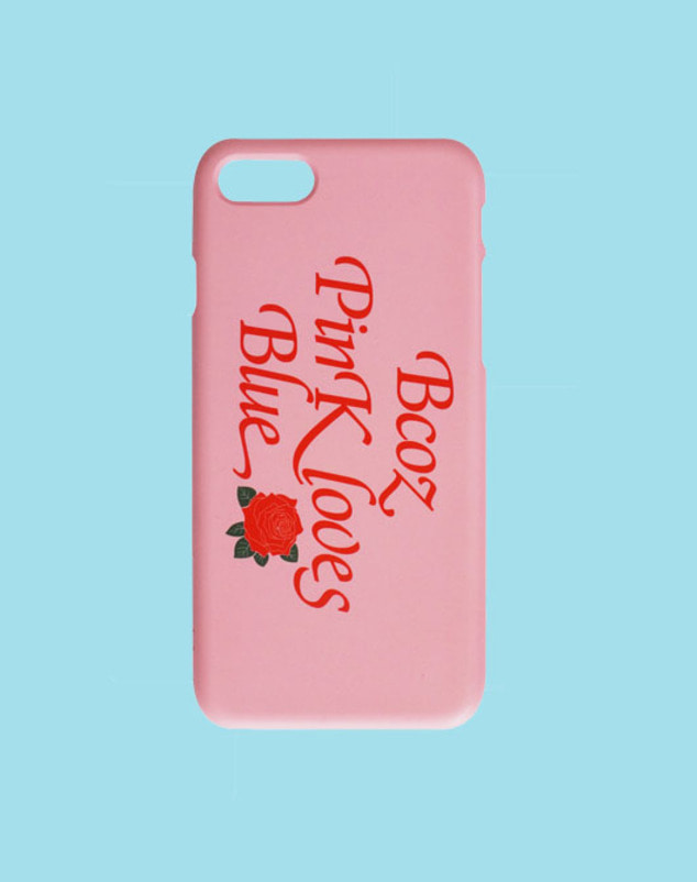 [SALE 30%]BPB ROSE IPHONE CASE_Pink
