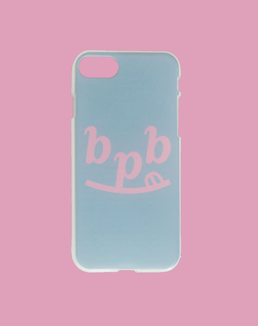 [SPRING SALE 15%]SMILE B  IPHONE CASE_Sky Blue