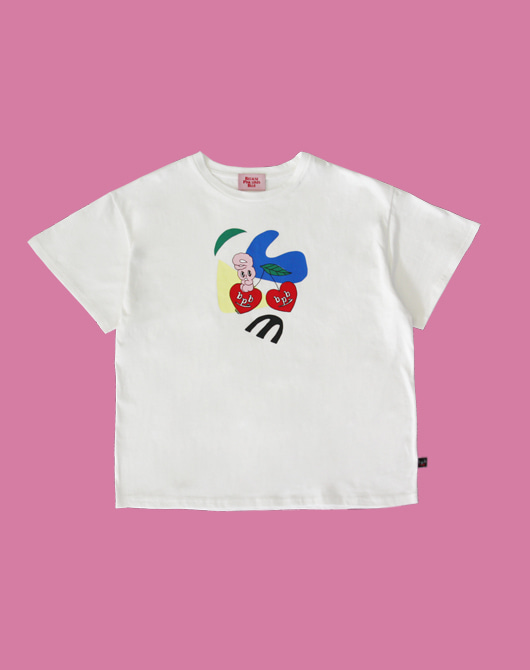 [SUMMER SALE 30%][bpb x estherlovesyou] Art Bonny T-Shirt_White