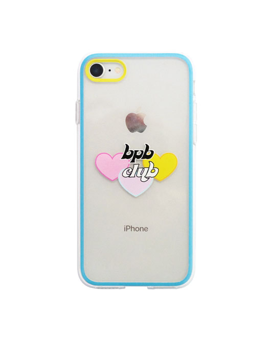 MIX LUV BPB CLUB IPHONE CASE_SKY BLUE