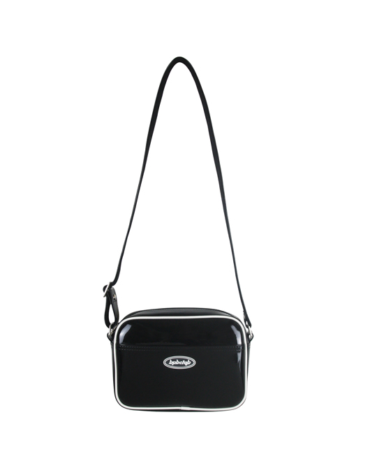 [신상 발매 기념 10% SALE]JELLY LOGO AIRLINE BAG_BLACK