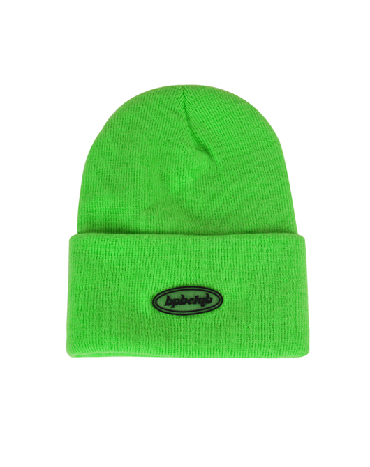 JELLY LOGO BEANIE_GREEN