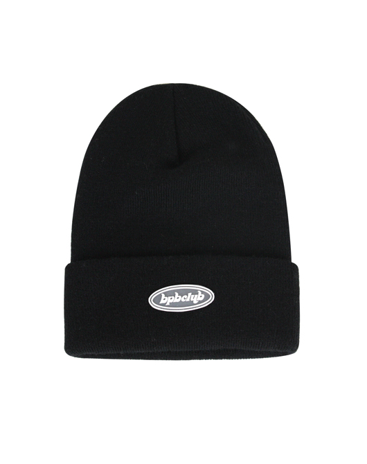 JELLY LOGO BEANIE_BLACK