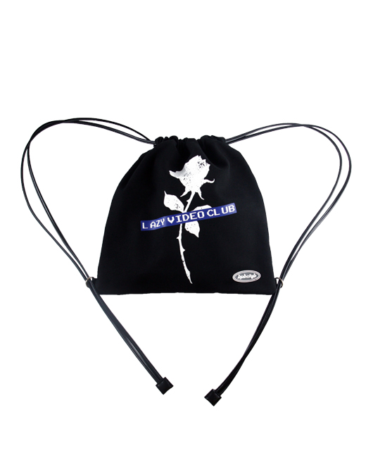 ROSE LAZY VIDEO CLUB KNAPSACK_BLACK